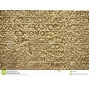 Letras Antigas Do Texto Grego Da Escrita Na Parede Imagem