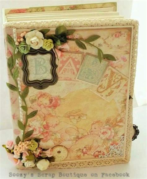 Handmade Baby Scrapbook Ideas - handmade baby scrapbook album using graphic45 s