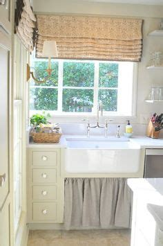 under the sink curtain farmhouse kitchen curtain under sink for the home
