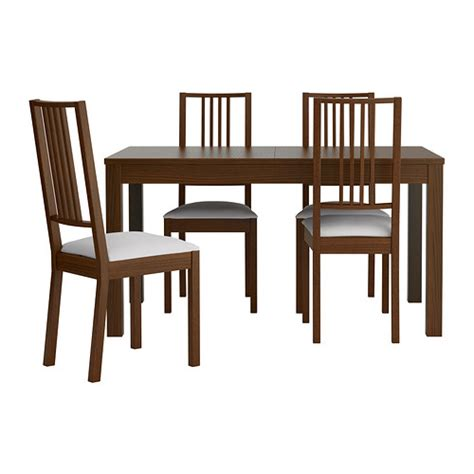Ikea Dining Table With 4 Chairs Bjursta B 214 Rje Table And 4 Chairs Ikea