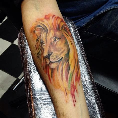 watercolor lion tattoo 25 best ideas about watercolor on