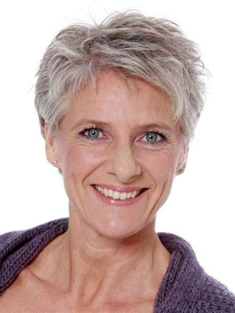 pixie grey hair styles layered short pixie hairstyles for grey hair fantastic