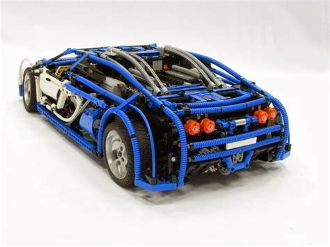 Lego Bugatti Veyron Instructions Grzenios Creations Sheepos