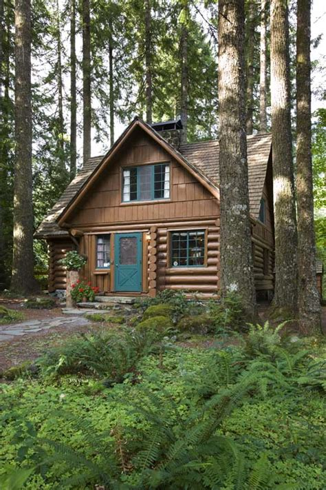 Cottage In The Woods by A Rustic Cottage In The Woods Home Design Garden Architecture Magazine