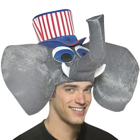 Elephant Hat by Republican Elephant Hat The Prank Store