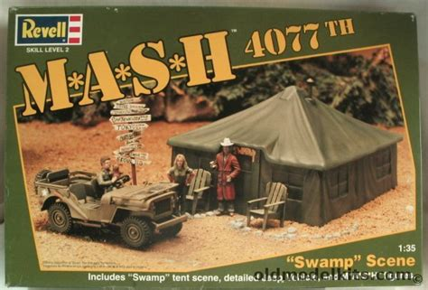 mash jeep revell 1 35 m a s h 4077th sw scene mash 4077 with