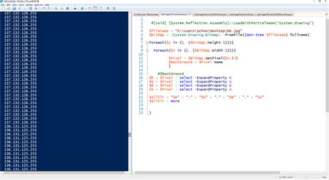 get color windows get color palette of image using powershell