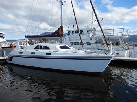 used boats value online simpson sailing catamaran great design and excellent value
