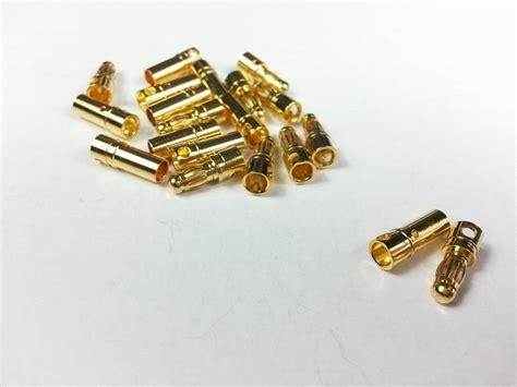 35 Mm Gold Connector 1 Pair Gc35 3 5mm gold connector 10 pairs set