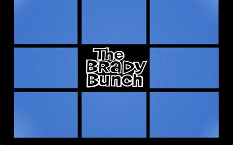 brady bunch template card creator xcombear photos textures