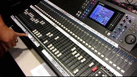 Mixer Cina 12 Chanel yamaha digital mixing console ls9 32 tutorial by haniel