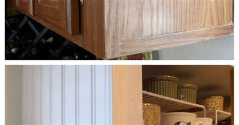 cheap beadboard kitchen makeover beadboard detail neato ideas diy