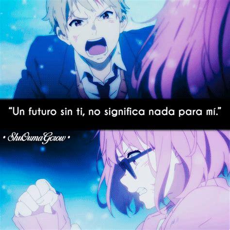 imagenes anime triste sin ti un futuro sin ti shuoumagcrow anime frases anime