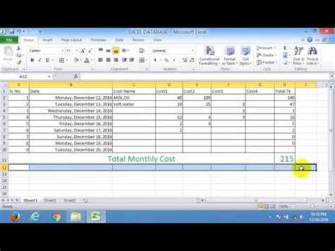 Excel 2010 Full Tutorial Youtube   microsoft excel 2017 tutorial for beginners part 2 full