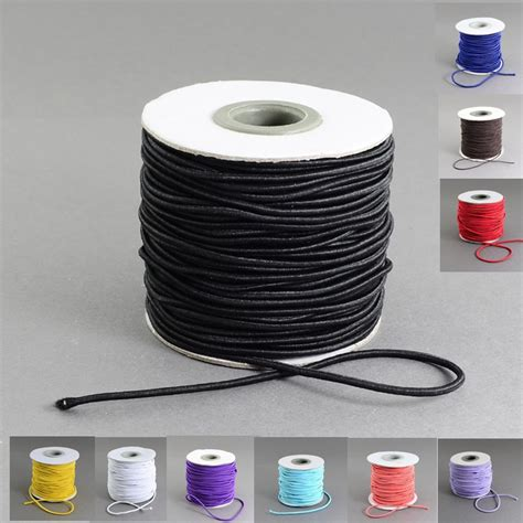 rubber sting 40m roll 2mm diy cord outside and rubber cord