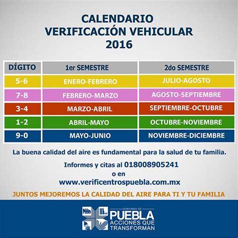 calendario de revista vehicular 2016 en ciudad de mexico citas verificacin vehicular 2016 citas verificacin