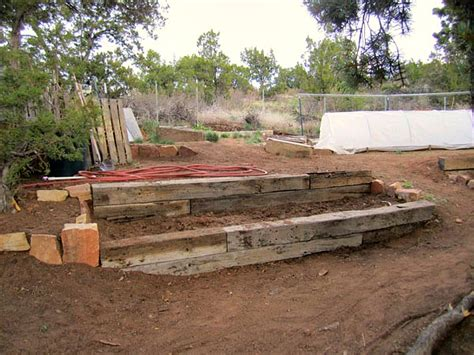 how to level a sloped backyard fever terracing mike and molly s house