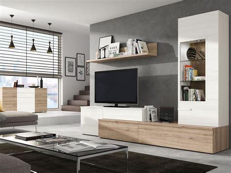 mueble salon tv comedor aparador madera melamina moderno