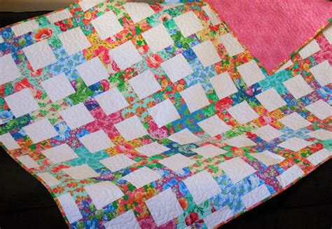 Bright Colored Quilts by Handmade Quilt With Bright Multi Colored Flowers Modern