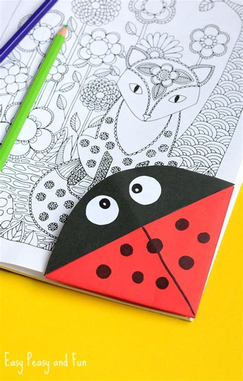How To Make Corner Bookmarks With Paper - 25 best ideas about corner bookmarks on