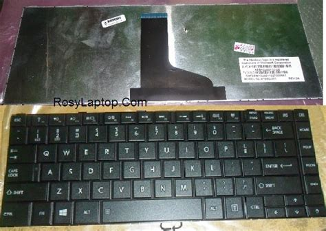 Keyboard Laptop Toshiba Satellite C840 keyboard toshiba c845 c805 c840 c800 l830 l845 l840 rosy