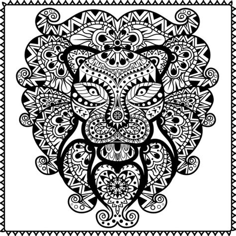 coloring pages for adults abstract pdf abstract animal coloring pages free printable coloring