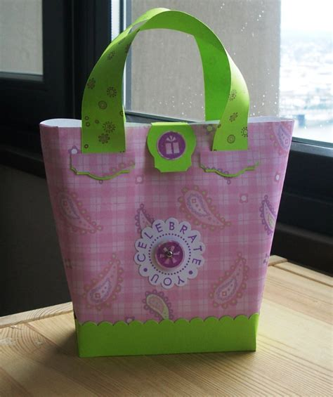 How To Make Bags Out Of Paper - trying out a new bag style paper purse northwest ster