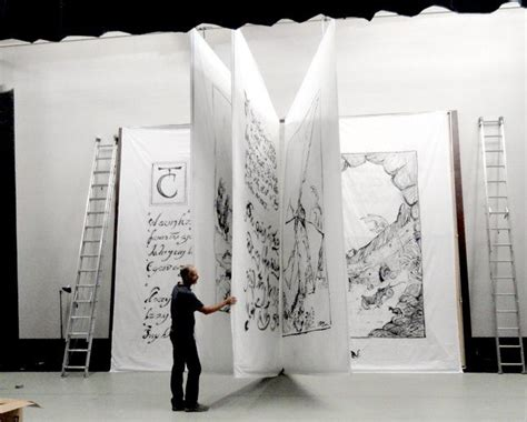 libro how big is a giant book expo booth theatre backdrop book art awesome booths art installation