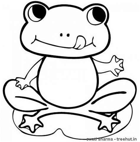 frog coloring page 20 free printable frog coloring pages everfreecoloring