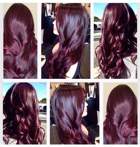 aubergine hair color the 25 best aubergine hair color ideas on