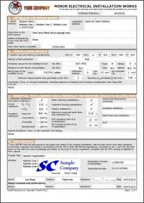 emergency lighting test certificate template easycert electrical software test inspection