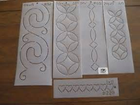 Quilting Plastic Templates by 22 Quilting Templates Stencils Quilt Plastic Simply