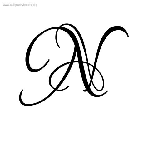 N Drawing Images by Fancy Cursive Capital M Www Pixshark Images