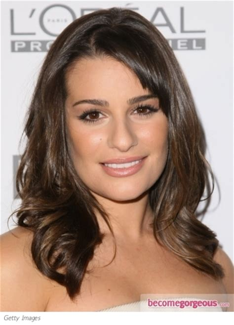 best haircuts for bang cowlicks pictures lea michele hairstyles lea michele shoulder