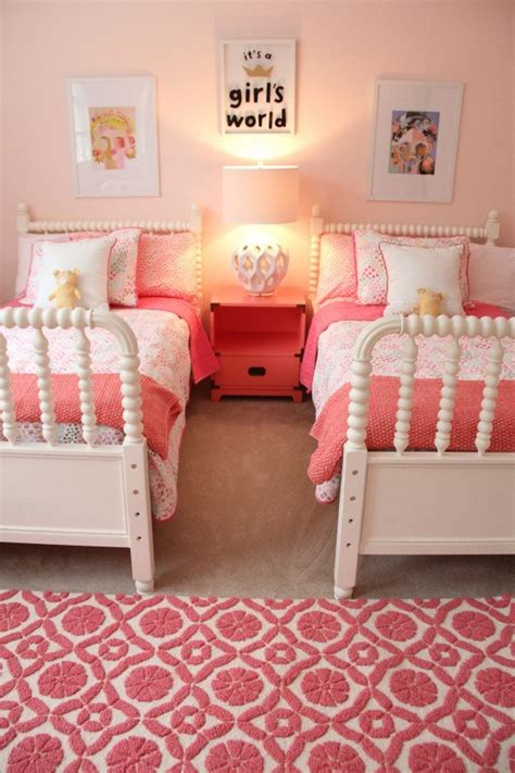 Little Girls Bedroom Ideas by Monday Makeover Shared Little Girls Room