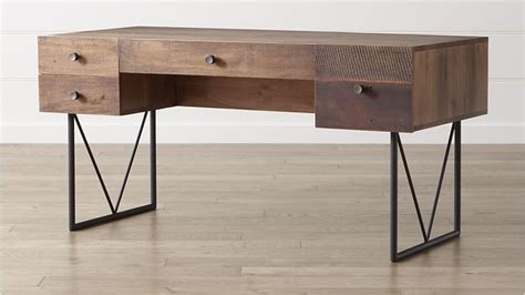 Crate And Barrel Computer Desk by Atwood Desk Crate And Barrel Toms Desks And Wood Desk
