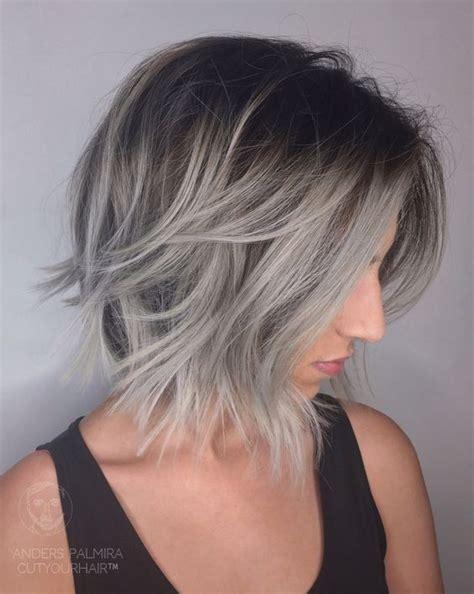 short lob hairstyles for women 40 best short hairstyles for fine hair 2018 short