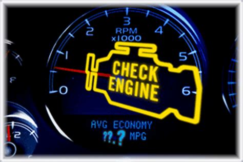 Blinking Check Engine Light by Is Your Check Engine Light On Engineering Community