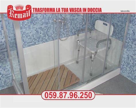 doccia remail sostituire la vasca in doccia da vasca in doccia