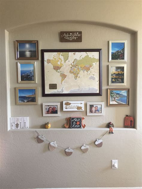 travel wall ideas adventure awaits gallery wall pinteres