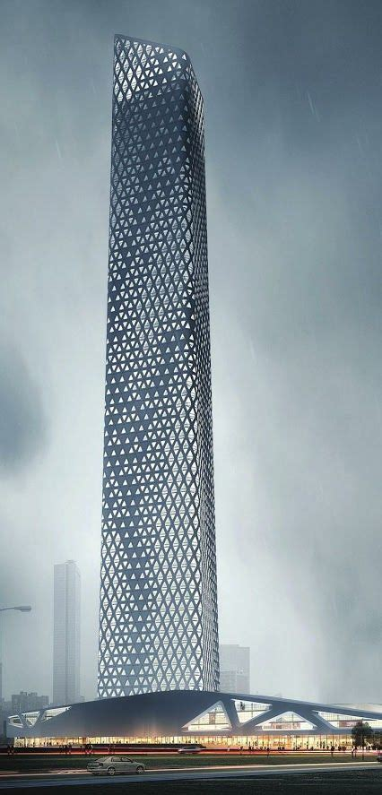 design center towers goettsch partners announced the start of construction on