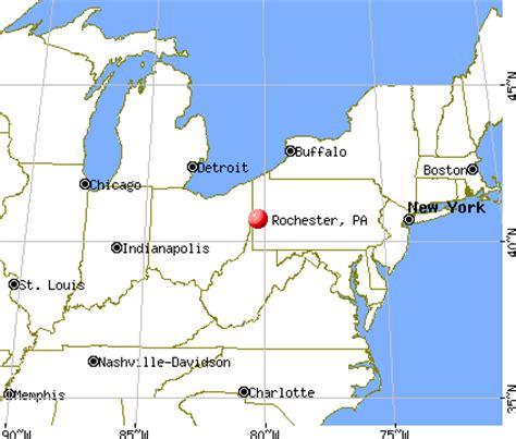 rochester, pennsylvania (pa 15074) profile: population