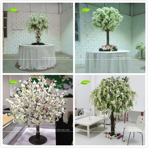 Home Decor Wholesale Supplier Btr150 Gnw 9ft White Artificial Decorative Tree Branches With Big Artificial Magnolia Flower For