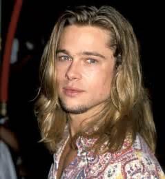 hair actors 90s sept 8 1993 brad pitt s hair evolution us weekly