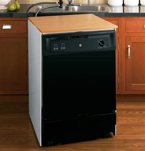 Picture Of A Dishwasher Convenient Portable Dishwashers Ge Appliances