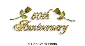 Anniversary Illustrations And Clip Art 210 042 Anniversary Royalty Free Illustrations Drawings 50th Wedding Anniversary Clipart