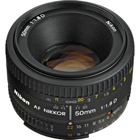Lensa Nikon Af 50mm F 1 8d nikon af 50mm f 1 8d fx standardni objektiv fiksne 緇ari紂ne