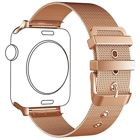 Apple Milanese Loop Army Style Baru apple band lwcus new milanese loop stainless steel iwatch band with classic buckle for