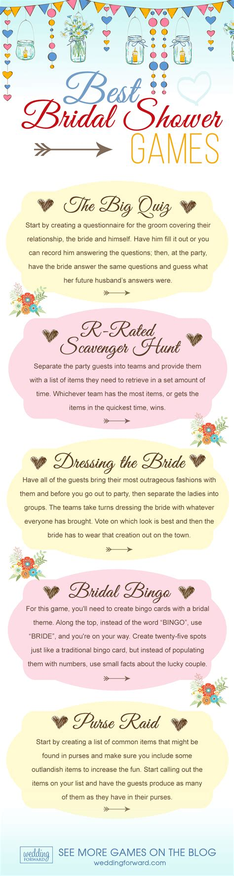 7 of the best bridal shower for the bridal shower - Top Bridal Shower And Activities