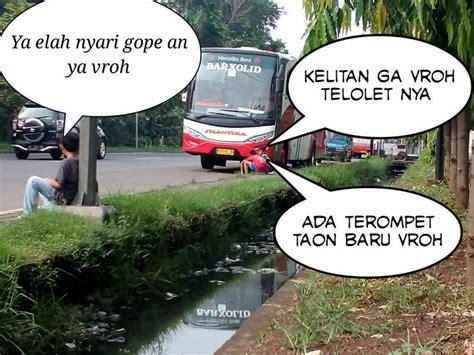 Neng Telolet Neng ga perlu nunggu 20 meme telolet paling lucu ini